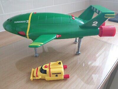 £26 • Buy Matchbox Thunderbird 2 Supersize With T4. Great Condition. Fully Working Sound.
