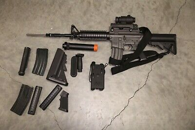 $479.99 • Buy Tokyo Marui M4 SR16 Airsoft Electric Gun Auto Rifle And Accessories Japan Made