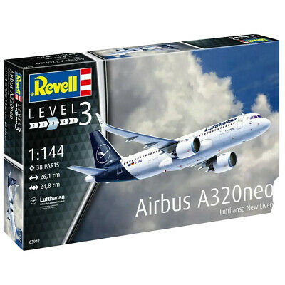 £18.99 • Buy Revell Airbus A320neo Lufthansa  New Livery  Aircraft Model Kit - Scale 1:144