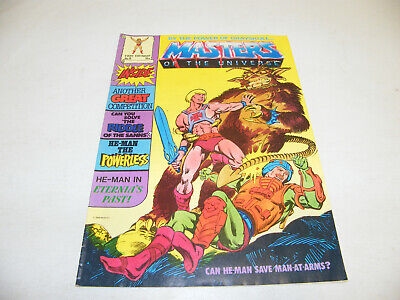 $23.60 • Buy MOTU Nr. 8 HE-MAN BY THE POWER OF 1986 UK COMIC MAGAZIN MASTERS OF THE UNIVERSE