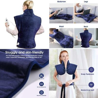 £38.99 • Buy Hangsun Heat Pads For Back Pain Relief Electric Heating Pad Neck And Shoulder Wa