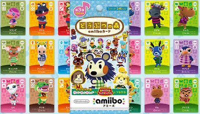 AU8 • Buy Official Animal Crossing Series 3 Villager Amiibo Cards