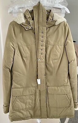 £72 • Buy Woolrich Arctic Parka Beige Small