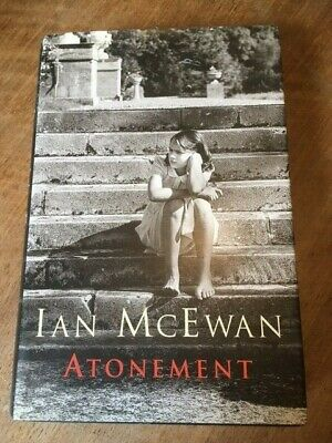 £70 • Buy SIGNED 1ST EDITION Of ATONEMENT BY IAN McEWAN
