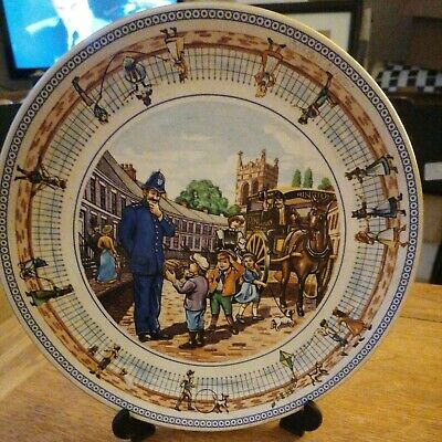 £2.25 • Buy Wade Ceramics For Ringtons Collectors Plate STREET GAMES