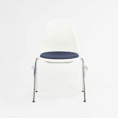 AU379.49 • Buy 2018 Eames Stacking Dining Chair DSS With Navy Seat By Vitra / Herman Miller