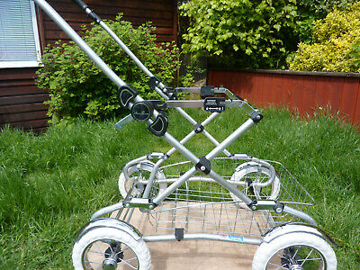 £60 • Buy Pram Classic Chassis Silvercross Vintage Style  Countrylight Hybrid With Shimmer