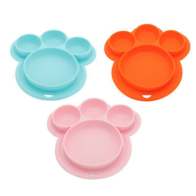 £4.79 • Buy Baby Snack Silicone Mat Toddler Placemat Happy Kids Mat Table Food Suction Tray