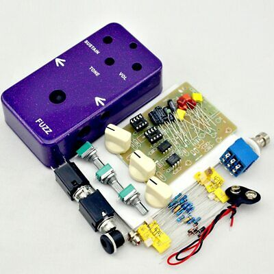 $ CDN49.37 • Buy Fuzz And Distortion Pedal All Kit With 1590B Style Aluminum Box For Bass Guitar