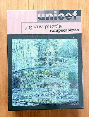 $ CDN30.87 • Buy Unicef  The Water Lily Pond  Claude Monet 1200 Piece Puzzle Brand New Sealed