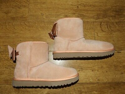 £50 • Buy UGG Mini Bailey Bow Boots Size 6  Eur 39