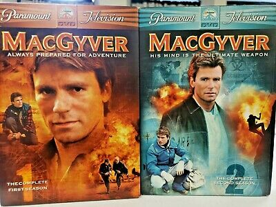 $10.97 • Buy MacGyver DVD Season 1 And 2 By Richard Dean Anderson - VERY GOOD