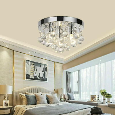 £18.99 • Buy Modern Chandelier Acrylic Crystal Light Shades Droplet Ceiling Pendant Lampshade