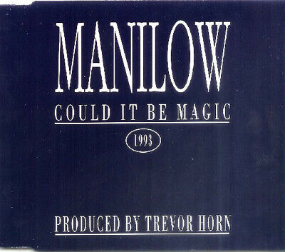 £3.50 • Buy Barry Manilow Could It Be Magic 3 Track Cd Single Trevor Horn