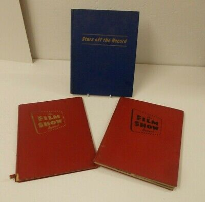 £10 • Buy 3 Vintage Film Books, 2xFilm Show Annual And1x Stars Off The Record.