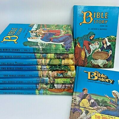 £53.20 • Buy The Bible Story Arthur Maxwell Complete Set 10 Childrens Books 1954 - 1980 LB