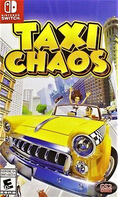 AU52 • Buy Taxi Chaos Nintendo Switch Brand New Sealed