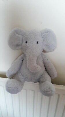 £19.99 • Buy RARE DISCONTINUED VGC Mothercare Snuggle Grey Elephant Comforter Plush Toy 10