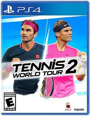 AU42 • Buy Tennis World Tour 2 PS4 Playstation 4 Brand New Sealed