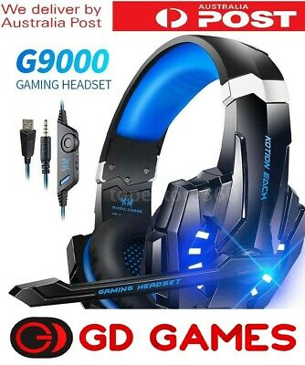 AU39 • Buy Playstation 4 PS4 XBOX One Switch PC Gaming Headset Brand New 1 Year Warrranty