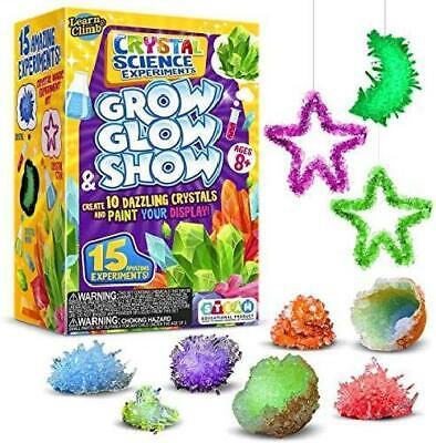 AU50.04 • Buy Crystal Growing Kit Kids Science Experiment Crafts Gift Girls Boys Ages 6 Plus