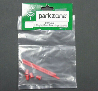£3.99 • Buy PKZ1408 Parkzone 2 Wing Hold Down Rods With Caps: Decathlon RC Plane Spare Parts