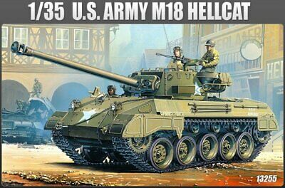 $33.99 • Buy Academy MODELS 1:35 SCALE M18 Hellcat US Army Tank KIT#13255~MINT In BOX