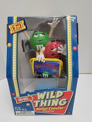 $20 • Buy M&M 2002 Wild Thing Roller Coaster Dispenser Limited Edition