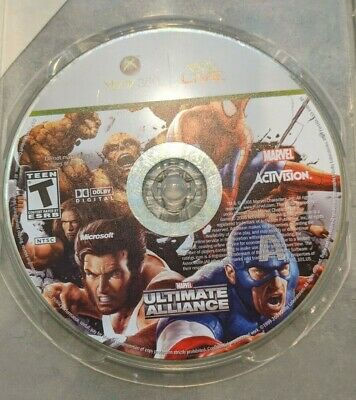 £7.77 • Buy Marvel: Ultimate Alliance Xbox 360 Kids Game Disc Only Avengers Spider Man