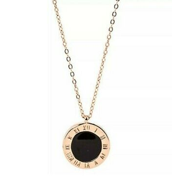 £4.99 • Buy SF Jewellery/rose Gold Plated Stainless Steel Chain Pendant /necklace