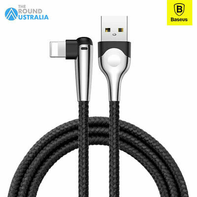 AU8.99 • Buy Baseus Nylon Fast Charging Cable Gaming For IPhone 12 11 Pro Max XS XR 8+
