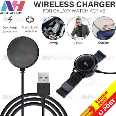 AU9.99 • Buy Wireless Fast Charging Power Charger For Samsung Galaxy Watch Active 1/2 40/44mm