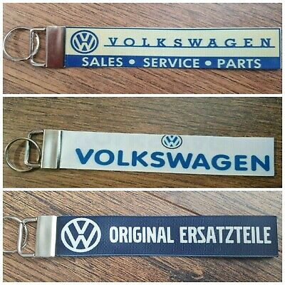 £3.99 • Buy VOLKSWAGEN PARTS VW GI BEETLE BUG CAMPER GOLF POLO CLASSIC STYLE Keyring Key Fob