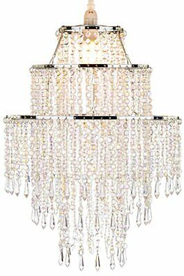 £34.99 • Buy Waneway Chandelier Light Shade For Ceiling Pendant Light, Easy Fit Crystal Lamp
