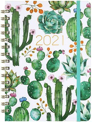 £6.89 • Buy 2021 Appointment Diary HARDCOVER Daily Planner Book Calendar Refill Day To Day