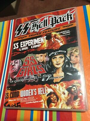 £49.99 • Buy SS Hell Pack Triple DVD - SS Experiment Love Camp SS Girls SS Camp Womens Hell