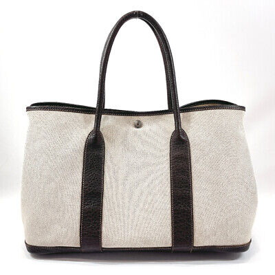 AU984 • Buy HERMES Tote Bag Garden Party PM Tower Ash/leather Women