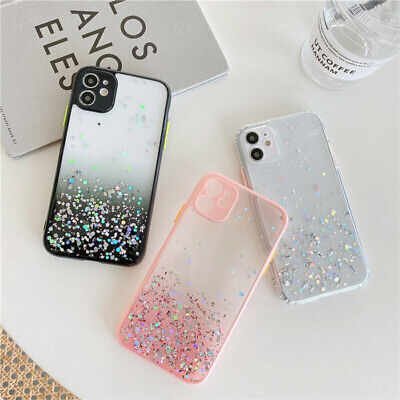 AU9.98 • Buy Glitter Powder Shockproof Case For IPhone 11 12 Pro XR XS Max 8 7 Plus SE Cover