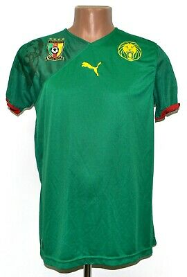 £27.99 • Buy Cameroon National Team 2010/2011 Home Football Shirt Jersey Puma Size L Adult