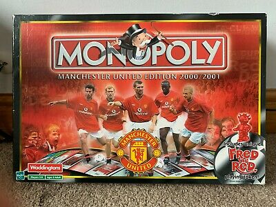 £29.99 • Buy Monopoly Board Game: Manchester United Edition 2000/2001 - 100% Complete!