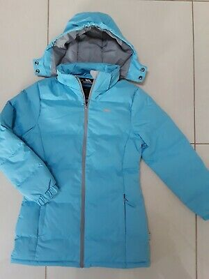 £13.99 • Buy Trespass Girls Blue Padded 3/4 Length Coat W/ Zip Fastening (new Without Tags)