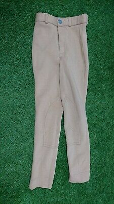 £7.99 • Buy Girls Wessex Shire Equestrian Size 20 Beige Jodphurs Trousers Horseriding