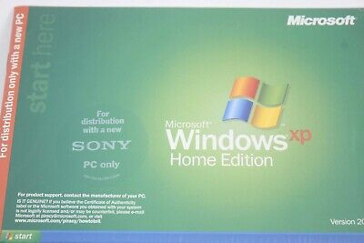 £14.15 • Buy Windows XP Home Edition Certificate Of Authenticity 187L
