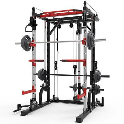 $ CDN584.08 • Buy 2021 All New Squat Rack Adjustable Heavy Weight Exercise Machine Home Gym