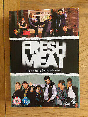 £4.50 • Buy Fresh Meat - Series 1 And 2 - Complete (DVD, 2013, 2-Disc Set, Box Set)