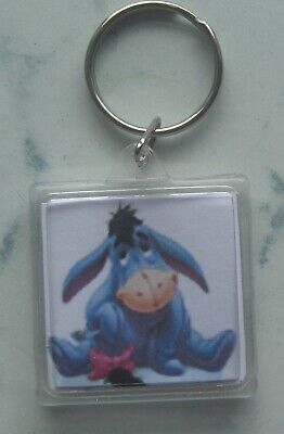 £2.20 • Buy Eeyore Keyring ( Double Sided ) 1.3 X 1.3 Inches