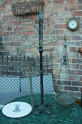 £325 • Buy Antique Avery Scales Cast Iron Butter Weighing Scales Model 1448 Circa 1890