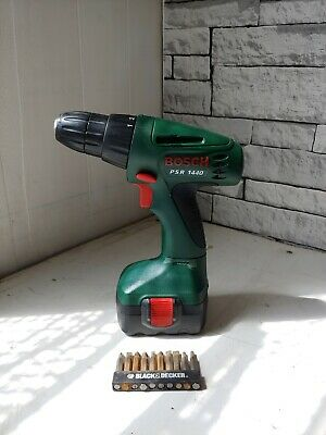 £24 • Buy Bosch PSR 1440 Cordless Drill Driver With Battery