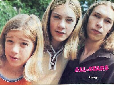 $ CDN6.07 • Buy Hanson Pinup Clipping Cutting From A Magazine 90's Close Up Taylor Zac