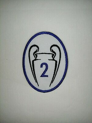 £3.25 • Buy CHELSEA - CHAMPIONS  LEAGUE TIMES 2 TROPHY PATCH  Iron On/sew On Patch